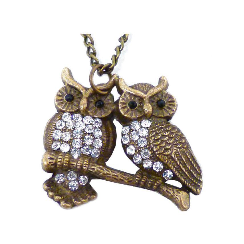 colar-casal-coruja-ouro-velho