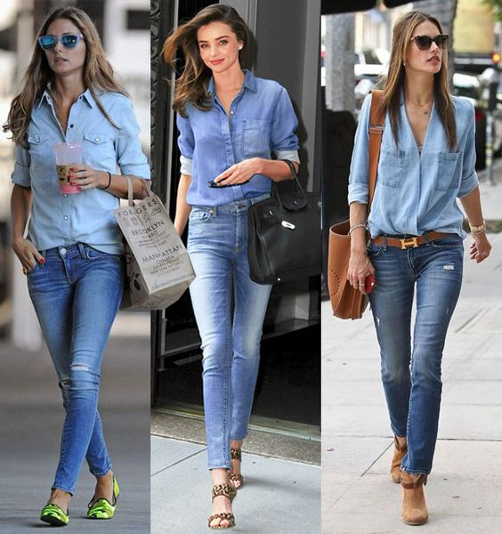 camisa+jeans+calça+jeans