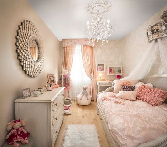 quarto-de-princesa-rose-gold