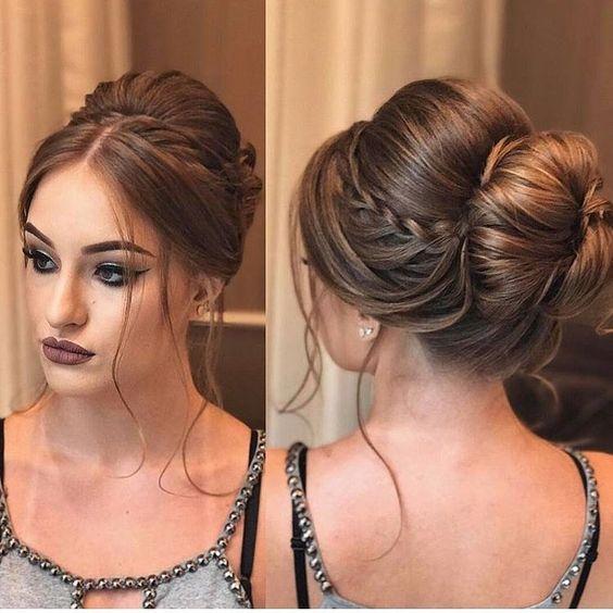 penteado-formatura-coque-trança