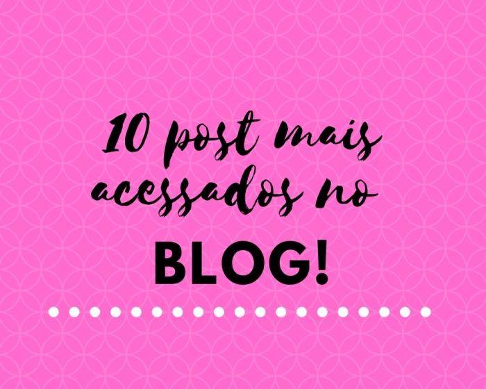 10 post mais acessados