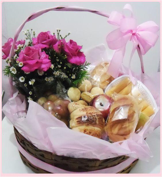 cesta café da manhã dia das mães