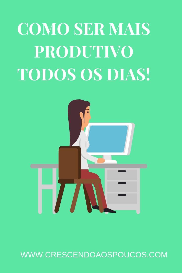 Ser produtivo é objetivo de vida de muitos principalmente de quem trabalha em casa. Por isso separei umas dicas para você ser mais produtivo todos os dias trabalhando em casa