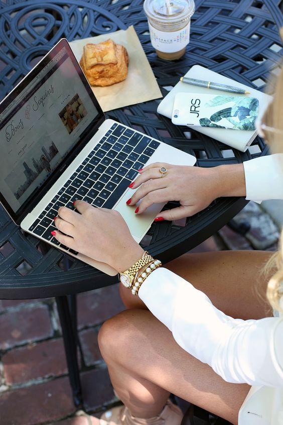 como organizo meu blog