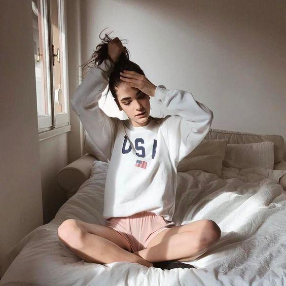 fotos-tumblr-na-cama-pijama