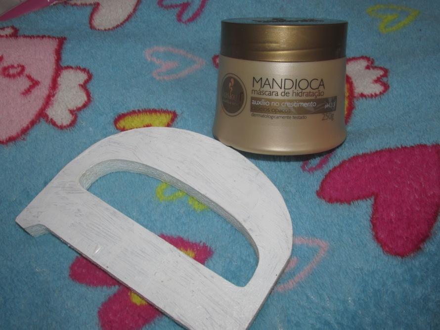 resenha máscara mandioca haskell #cabelo #hidratacao #resenha