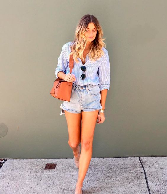 short jeans como usar