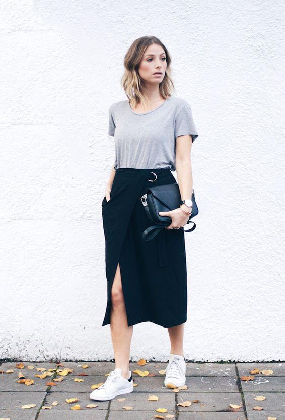 look minimalista #moda #minimalismo #lookdodia