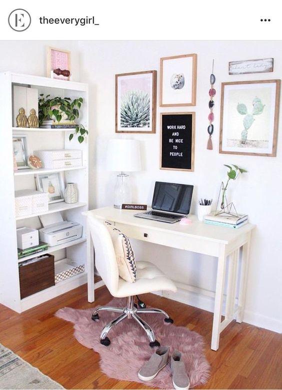 home office decor - escritório decoração para quem trabalha em casa