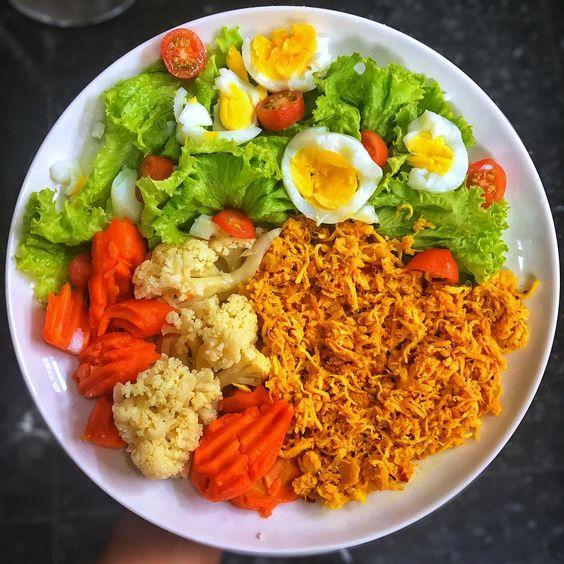 Se alimente bem - boa alimentação- organização
