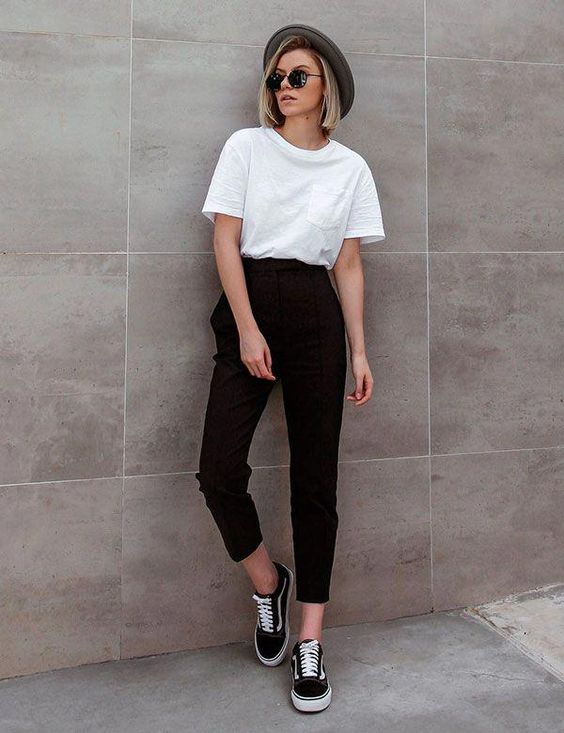 look minimalista #minimalismo #moda
