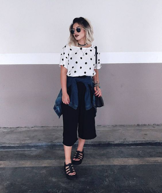 look minimalista #moda #fashion #lookdodia #minimalismo