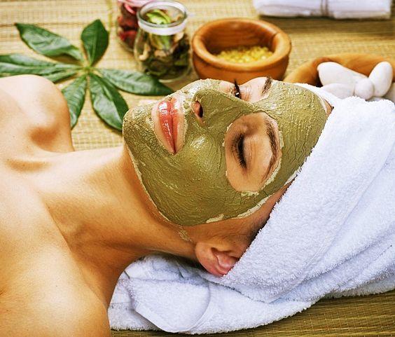Máscara de argila verde em pó, testei e olha o que achei. #argilaverde #spaday #máscarafacial #máscaracomargila #beleza