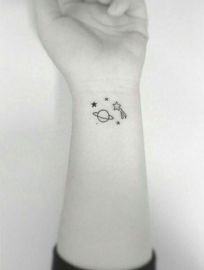 tatuagem pequena feminina no pulso #tattoo #tatuagem