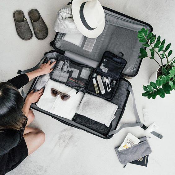 o que levar na mala em viagem curta #checklistdeviagem #viagem #mala