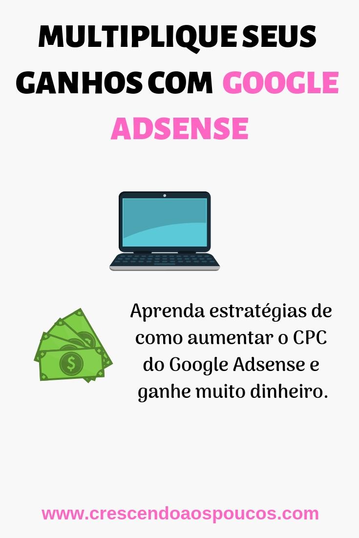 ganhar dinheiro com google adsense