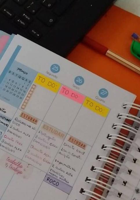 organizando a semana no planner #organização #planner