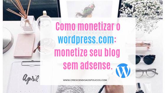 monetizacao wordpress