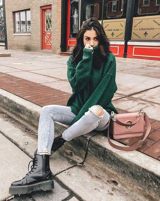 looks tumblr feminino de inverno