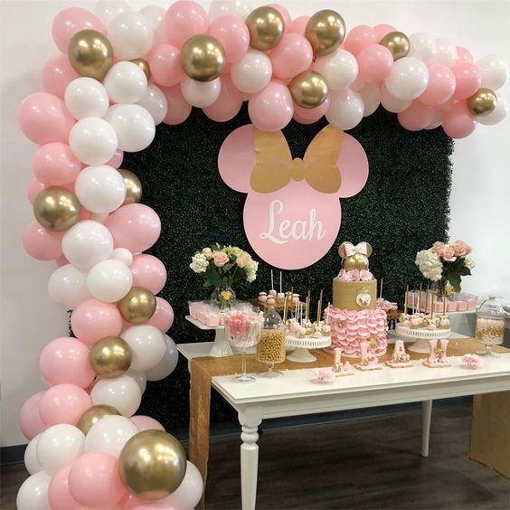 decoração festa infantil mine