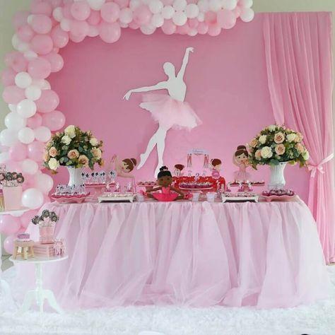decoração festa infantil bailarina