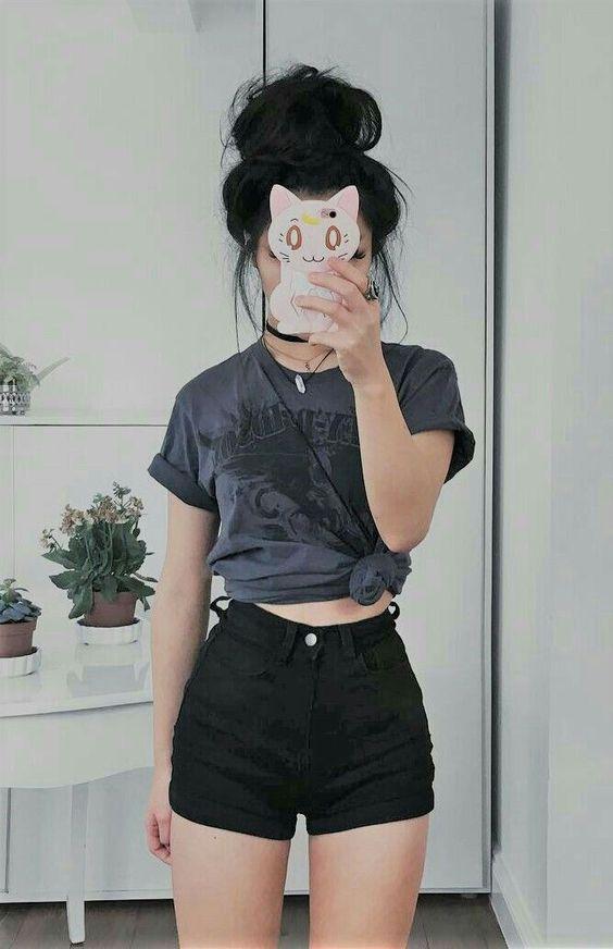 look tumblr feminino