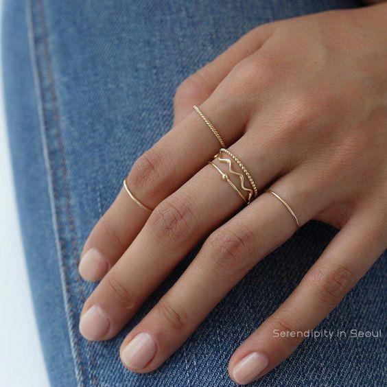 como usar anel delicado