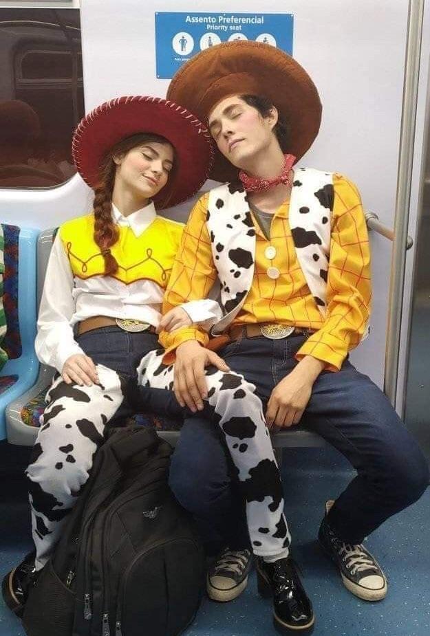 fantasias criativas de casal