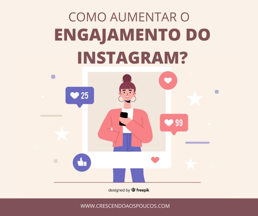 Como aumentar engajamento do instagram